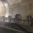 HWY 401 and HWY 62 Underpass Rehabilitation - Bridge abutment walls prior to shotcrete application