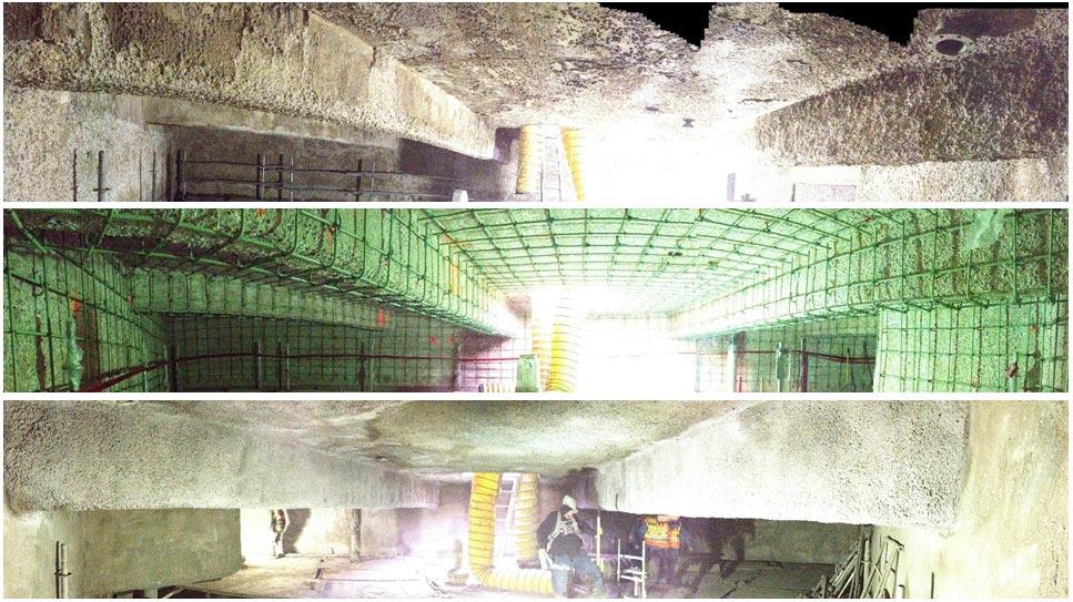 H2S Corrosion – Aerobic Reactor Lining