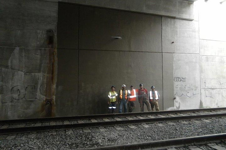 HCM Shotcrete - Hagarman Bridge - GO Transit / Metrolinx