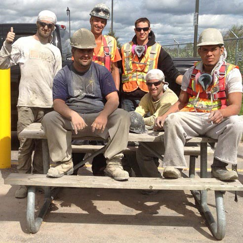 HCM Shotcrete Team