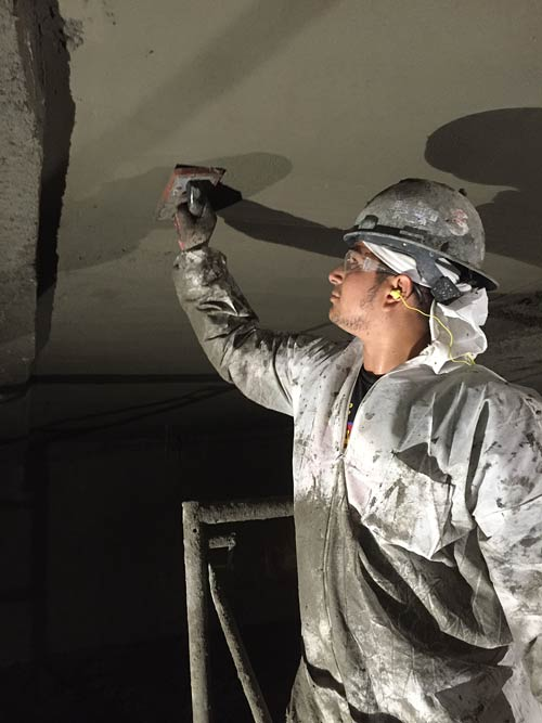 Parking Garage Soffit Repair