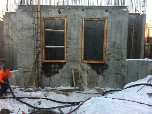 HCM Shotcrete - Cast in place wall